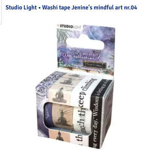Studio Light • Washi tape Jenine's mindful art nr. 04