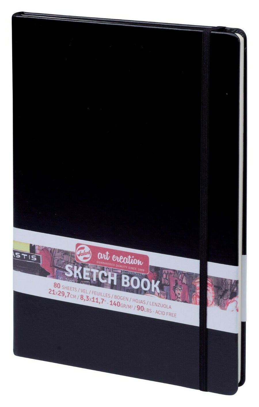ART CREATION Sketch Book, 21 x 29,7 cm, 80 Blatt