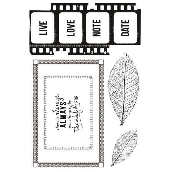 Kaisercraft Clear Stamps Art of Life 15,5 x 10,5 cm