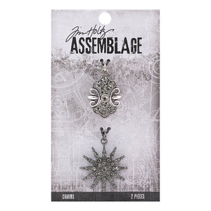 Advantus • Tim Holtz Assemblage charms sunburst and emblem