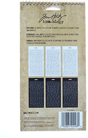 Advantus • Tim Holtz Idea-ology chitchat word stickers (1088 Stück)