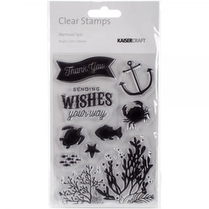 Kaisercraft • Clear Stamp Mermaid Tails