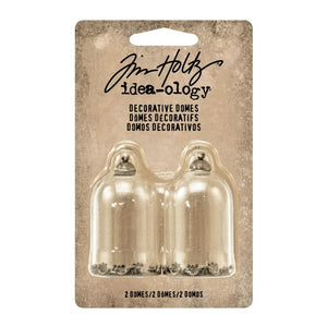 Advantus • Tim Holtz Idea-ology decorative domes 2 Stück