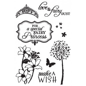 Kaisercraft Clear Stamps Fairy Dust 15,5 x 10,5 cm