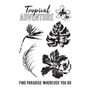 "Kaisercraft Clear Stamps ""Paradise Found"""