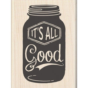 "Inkadinkado  Holz Stempel ""it's all good"""