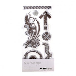 Kaisercraft Clear Stamps Rewind Collection  21 x 10 cm