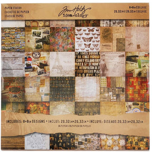 Idea-ology • Tim Holtz collage Mini stash