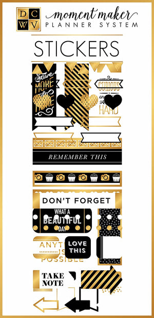 DCWV • Accessories planner stickers fashion-Moment Maker