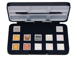 Van Gogh Aquarellfarbe Pocket Box Metallic- & Interference-Farben