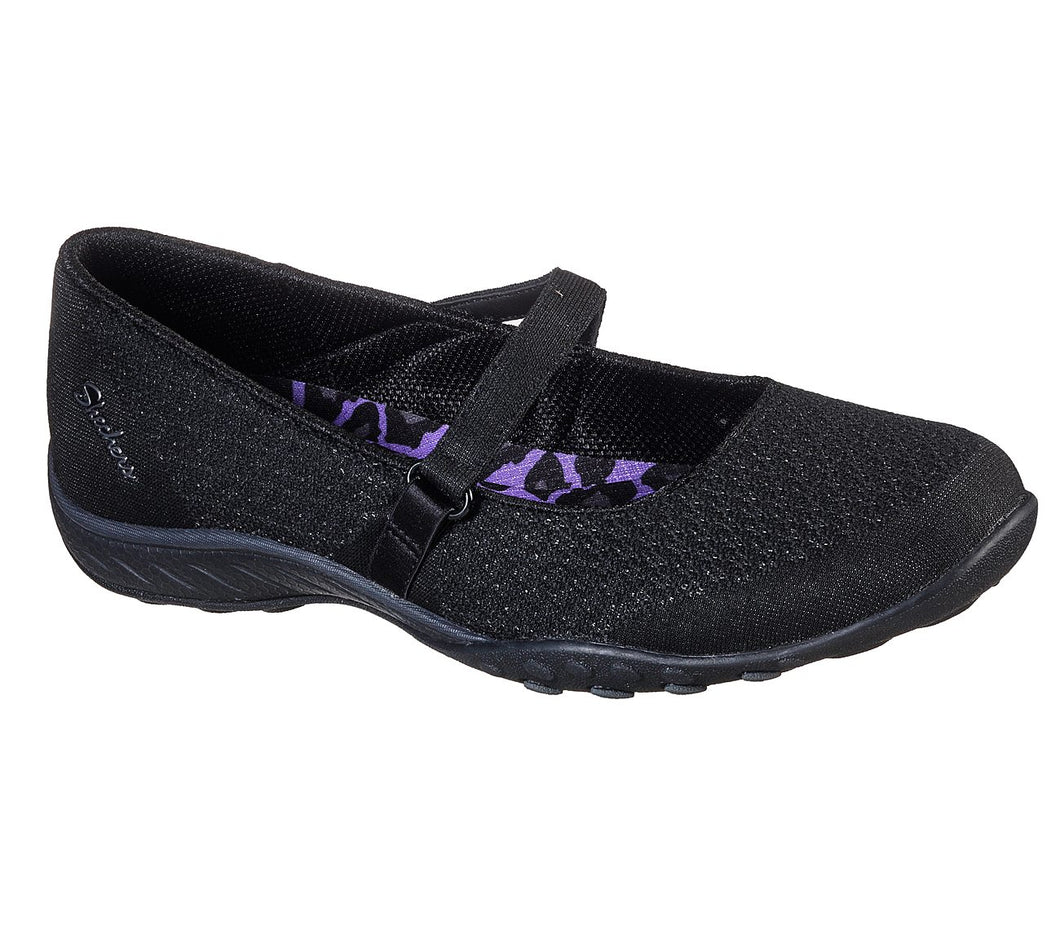 SKECHERS USA INC. BREATHE EASY - 100020-BLK