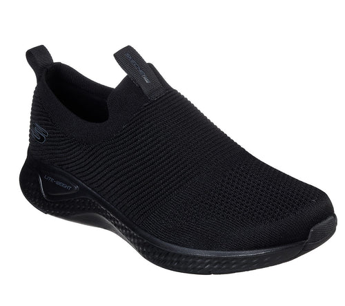 SKECHERS USA INC. MENS ATHLETIC SLIPON - 52759BKW
