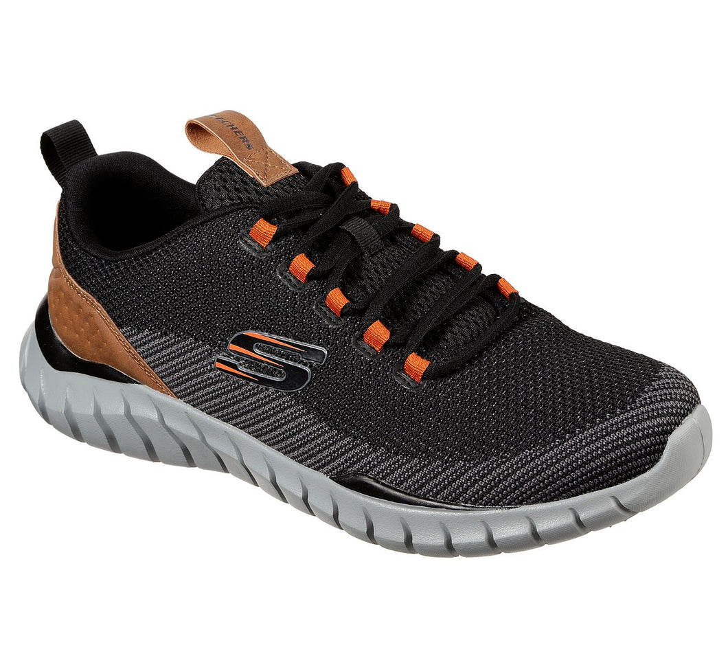 SKECHERS USA INC. MENS ATHLETIC LACE - 52913BLK