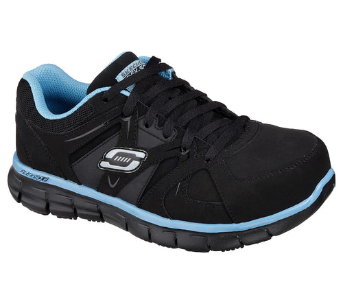 SKECHERS USA INC. SAFETY TOE - 76553/BKBL