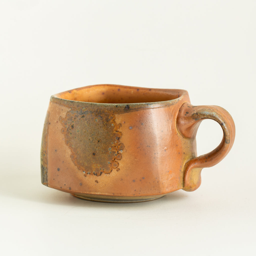 Wood Fired Square Mug #9