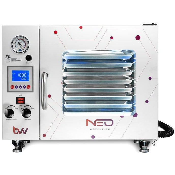 0.9CF BVV Neocision Lab Certified Vacuum Oven - 5 Wall Heating, LED's, 8 Shelves Standard - BVV
