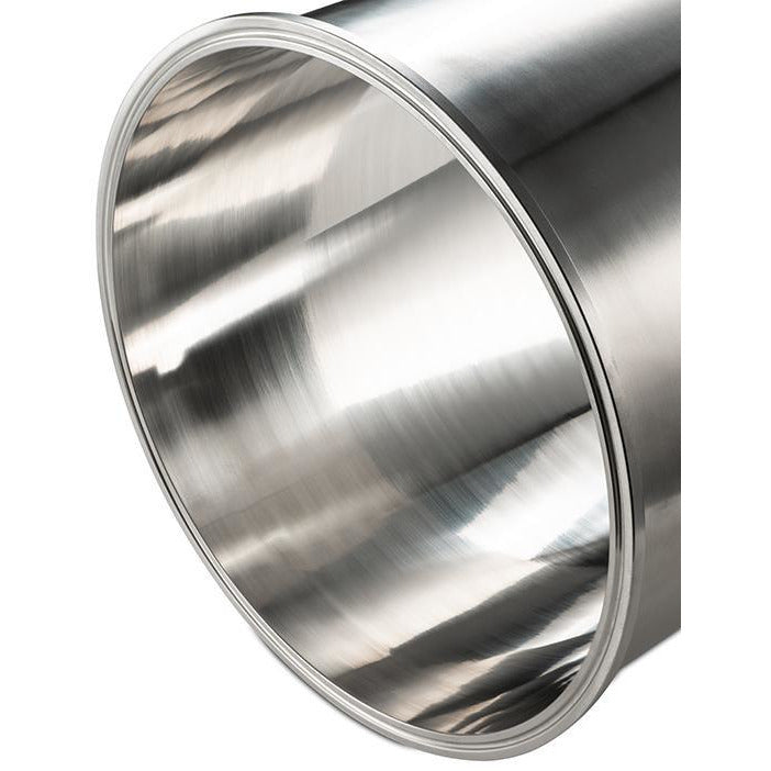 BVV 3 Inch Tri-Clamp x 10 Inch 316 Stainless Steel Spools