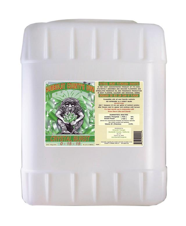Crystal Burst Hydroponic Center Emerald Triangle 5 gal