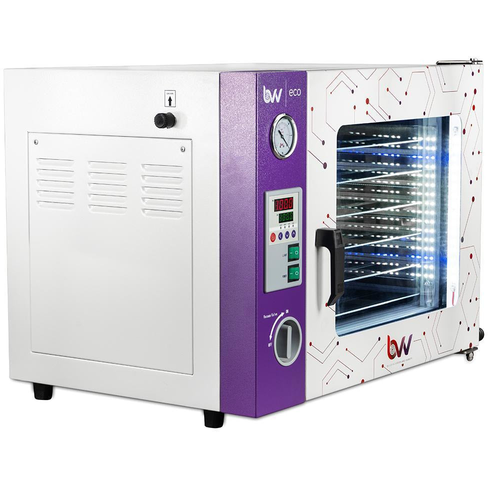 1.9CF ECO Vacuum Oven - 4 Wall Heating, LED display, LED's - 5 Shelves Standard Shop All Categories BVV
