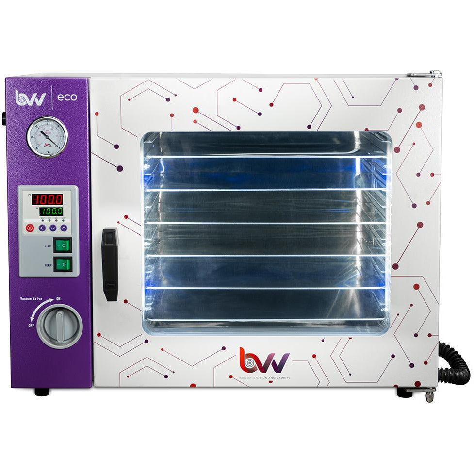 1.9CF ECO Vacuum Oven - 4 Wall Heating, LED display, LED's - 5 Shelves Standard