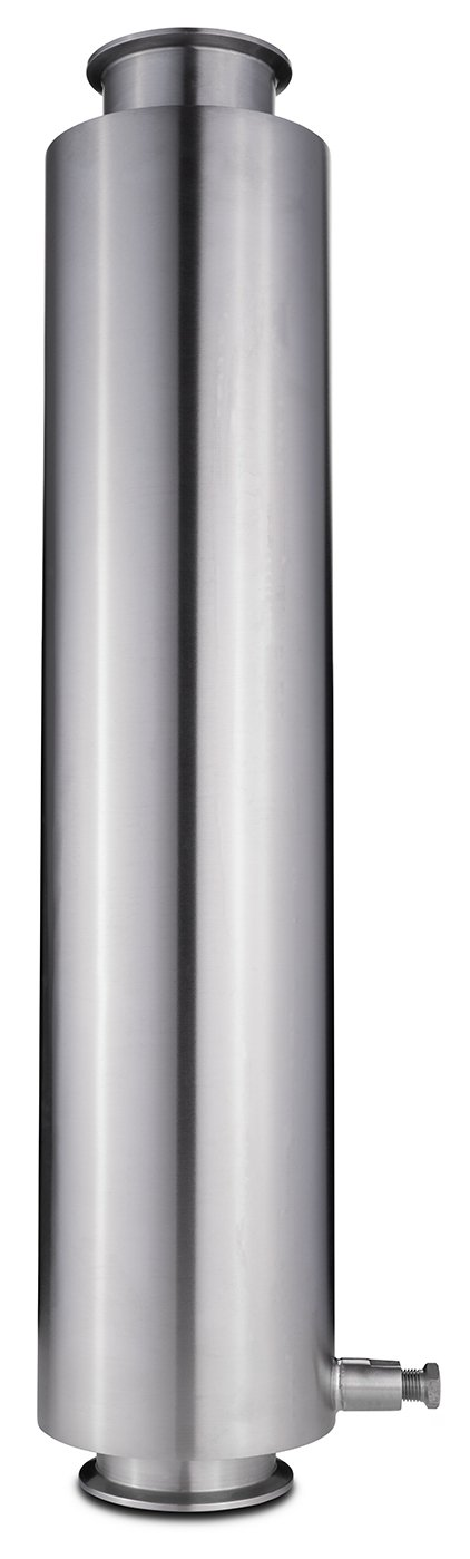 "3"" Tri-Clamp Dewaxer Columns Shop All Categories BVV 24-inch"