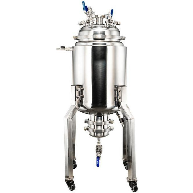 Pre-Built 50L Stainless Steel Jacketed Reactor Shop All Categories BVV