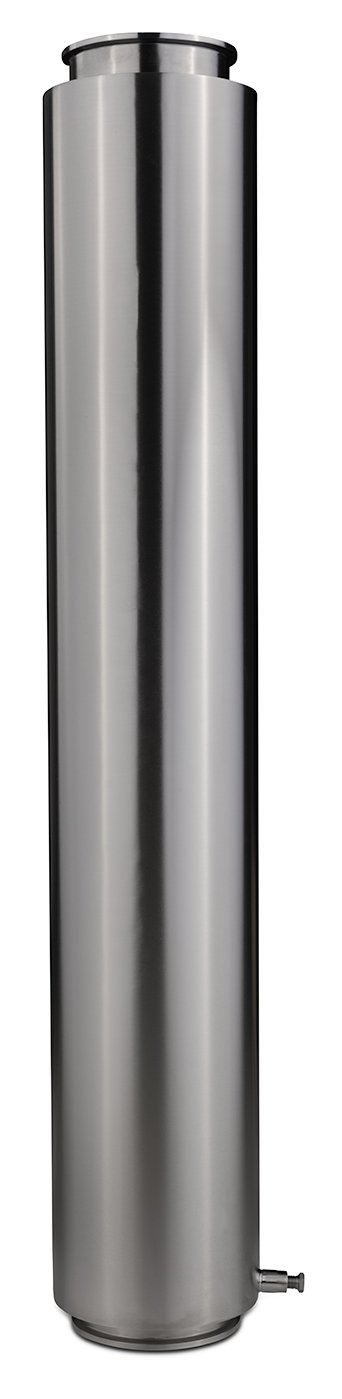 "6"" Tri-Clamp Dewaxer Columns Shop All Categories BVV 48-inch"