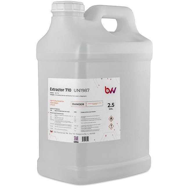 BVV Ultra High Purity 710 Extraction Solvent Shop Brands BVV 2.5 Gallon