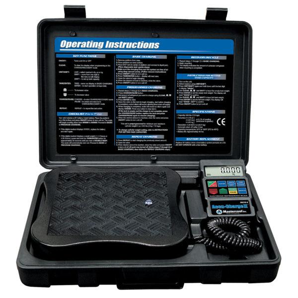 Mastercool 98210-A ACCU-CHARGE II Electronic Refrigerant Scale Shop All Categories Mastercool Inc.