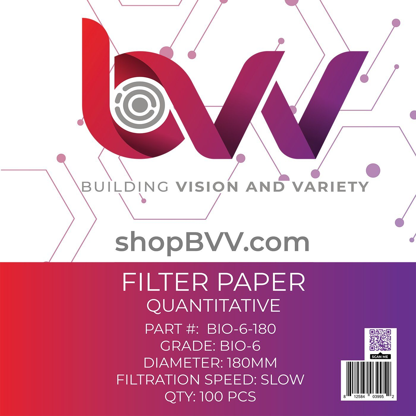 Ashless Filter Papers - 180MM - Qualitative