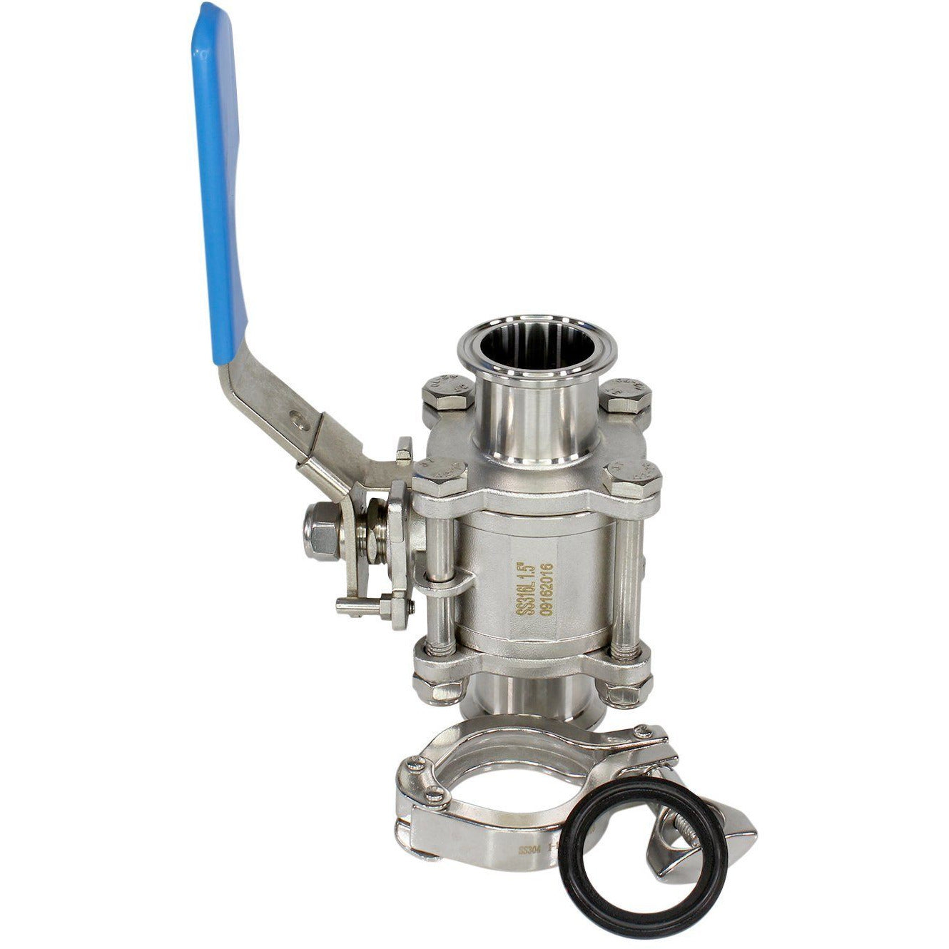 316L SS Tri-Clamp Ball Valve KIT - Nitrogen Tested Shop All Categories BVV 1-inch + Standard Clamp