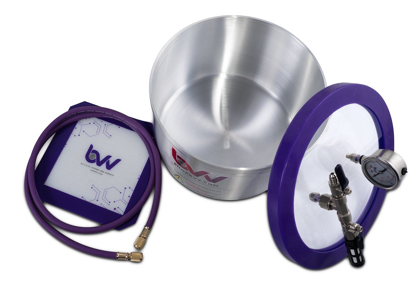 Best Value Vacs 2 Gallon Aluminum Vacuum Chamber and VE225 4 CFM Two Stage Vacuum Pump Kit Shop All Categories BVV
