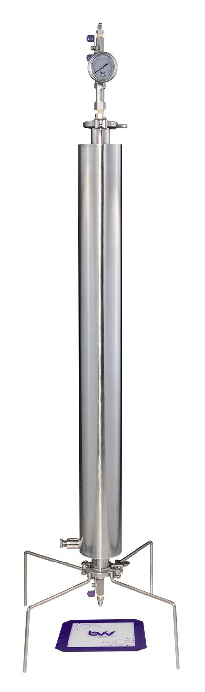 "1.5"" Dewaxing Closed Column Extractor 90-270g Shop All Categories BVV 270 Gram Professional"
