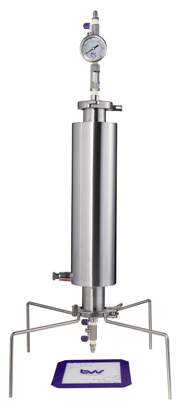 "2"" Dewaxing Closed Column Extractor 115-200g Shop All Categories BVV 150 Gram Professional"