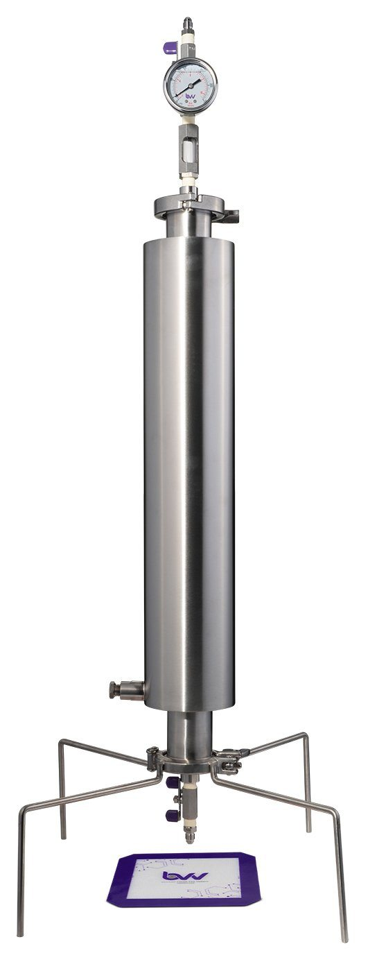 "2"" Dewaxing Closed Column Extractor 115-200g Shop All Categories BVV 200 Gram Professional"