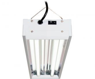 Agrobrite T5 48W 2' 2-Tube Fixture with Lamps Hydroponic Center Agrobrite