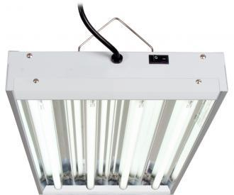 Agrobrite T5 2' Fixture with Lamps Hydroponic Center Agrobrite 96W 4-Tube