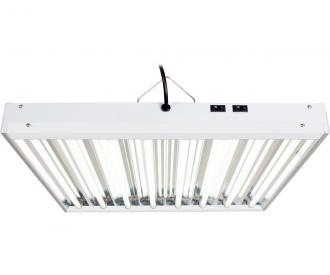 Agrobrite T5 2' Fixture with Lamps Hydroponic Center Agrobrite 192W 8-Tube