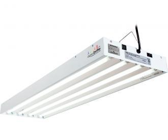 Agrobrite T5 4' Fixture with Lamps Hydroponic Center Agrobrite 216W 4-Tube