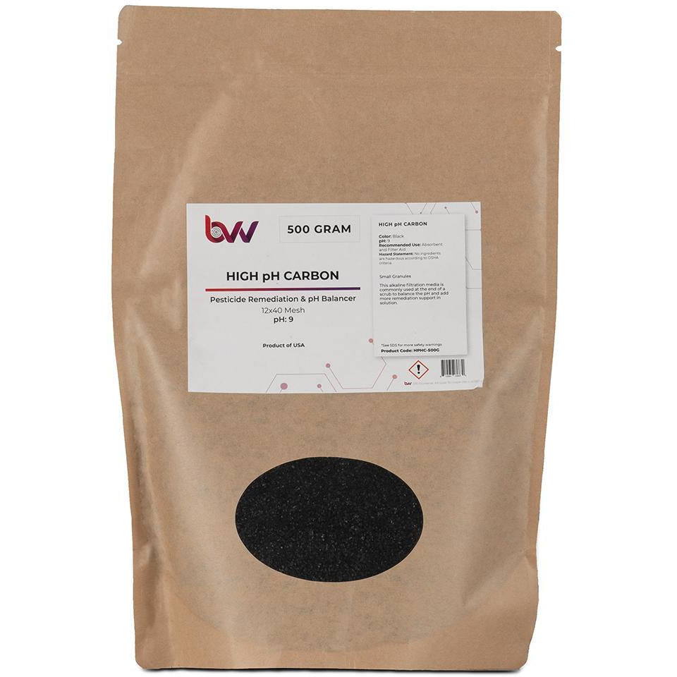 High PH Carbon New Products BVV 500 Grams