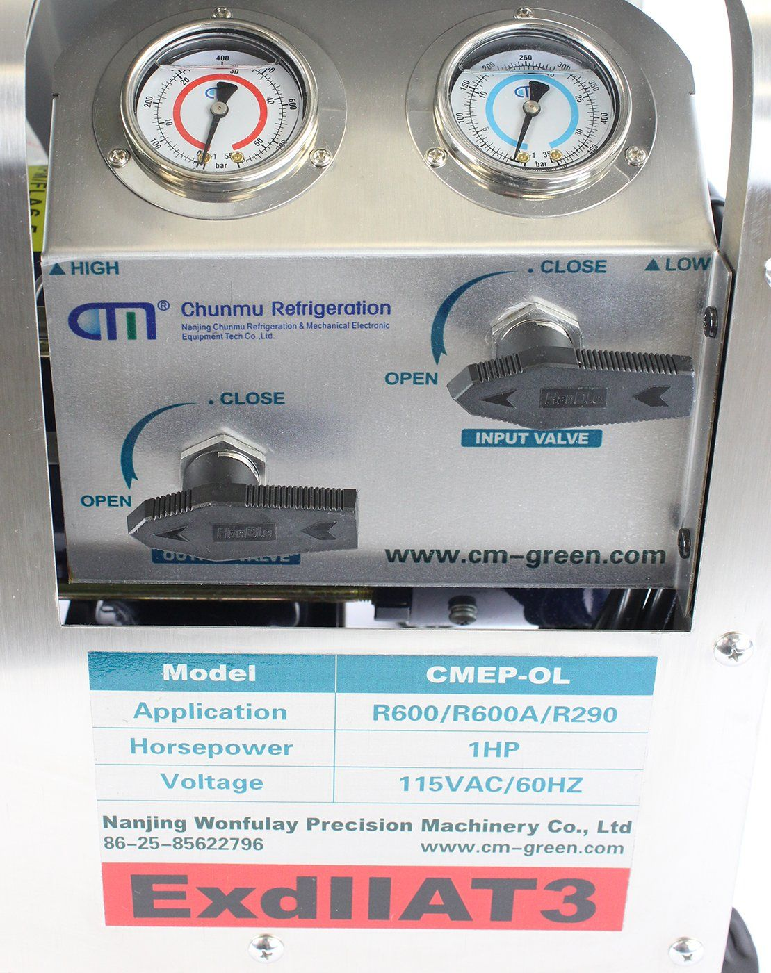 CMEP-OL Gen 2 Oil-less Explosion Proof Recovery Pump