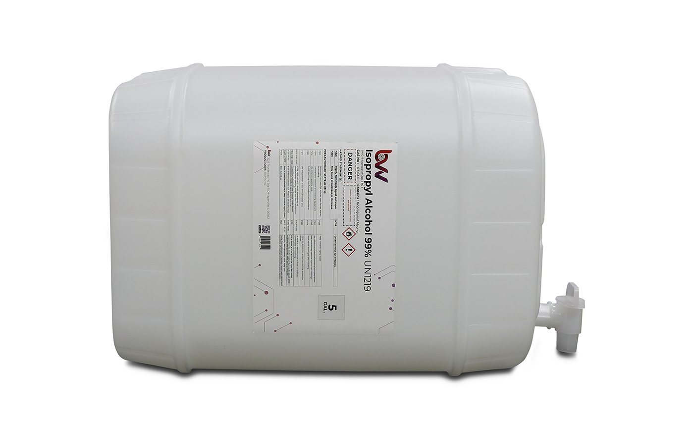BVV™ High Purity Isopropyl Alcohol 99% - USP-NF Grade New Products BVV