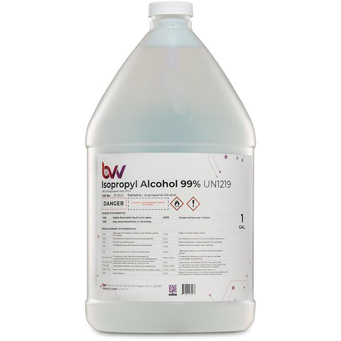 BVV High Purity Isopropyl Alcohol 99% New Products BVV 1 Gal