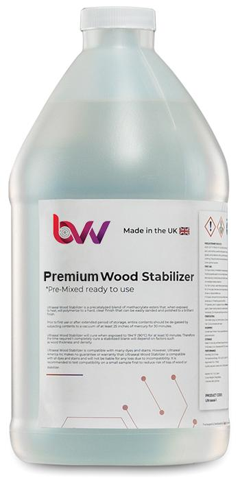 Premium Wood Stabilizer New Products BVV 1/2 Gallon