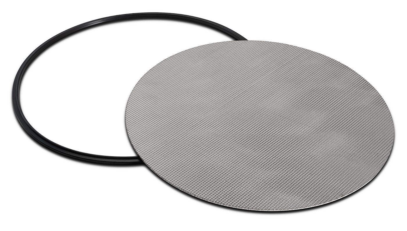 "316L Stainless Dutch Weave Sintered Filter Disk 1 micron and up Shop All Categories BVV 10"" 1 Micron"