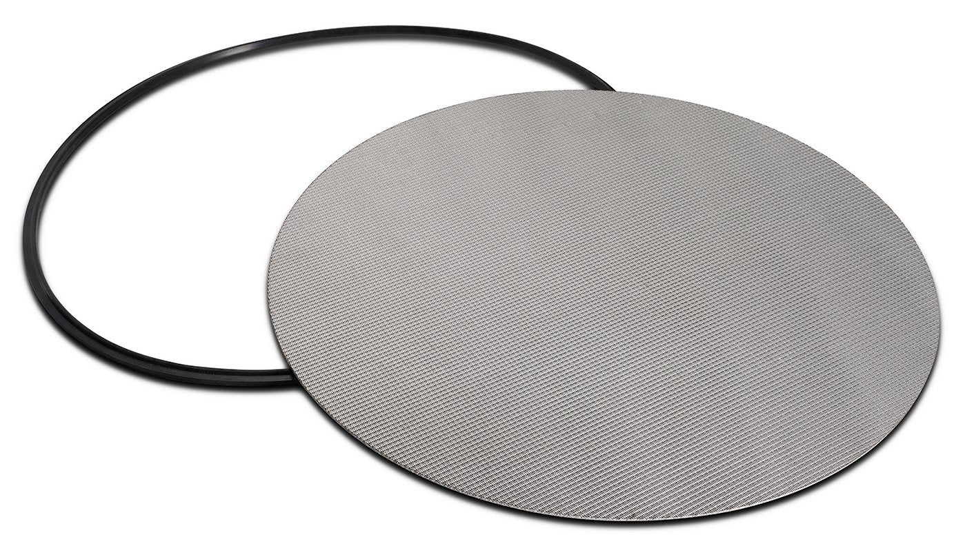 "316L Stainless Dutch Weave Sintered Filter Disk 1 micron and up Shop All Categories BVV 12"" 1 Micron"
