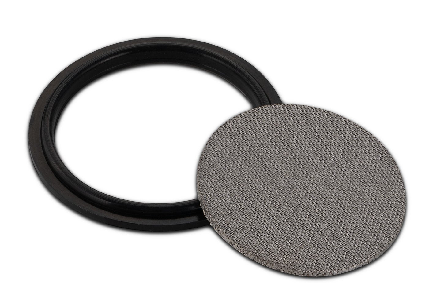 "316L Stainless Dutch Weave Sintered Filter Disk 1 micron and up Shop All Categories BVV 1.5"" 1 Micron"