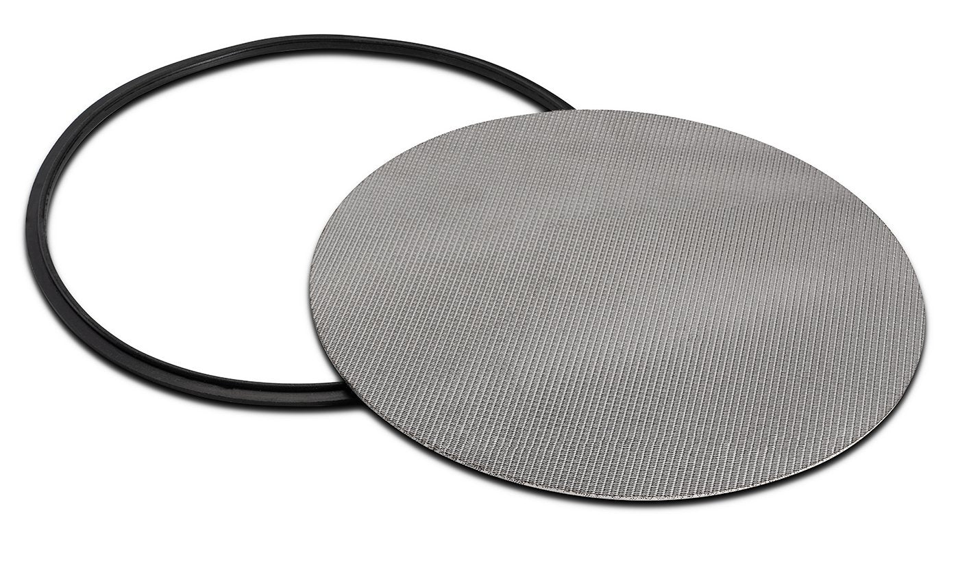 "316L Stainless Dutch Weave Sintered Filter Disk 1 micron and up Shop All Categories BVV 8"" 1 Micron"