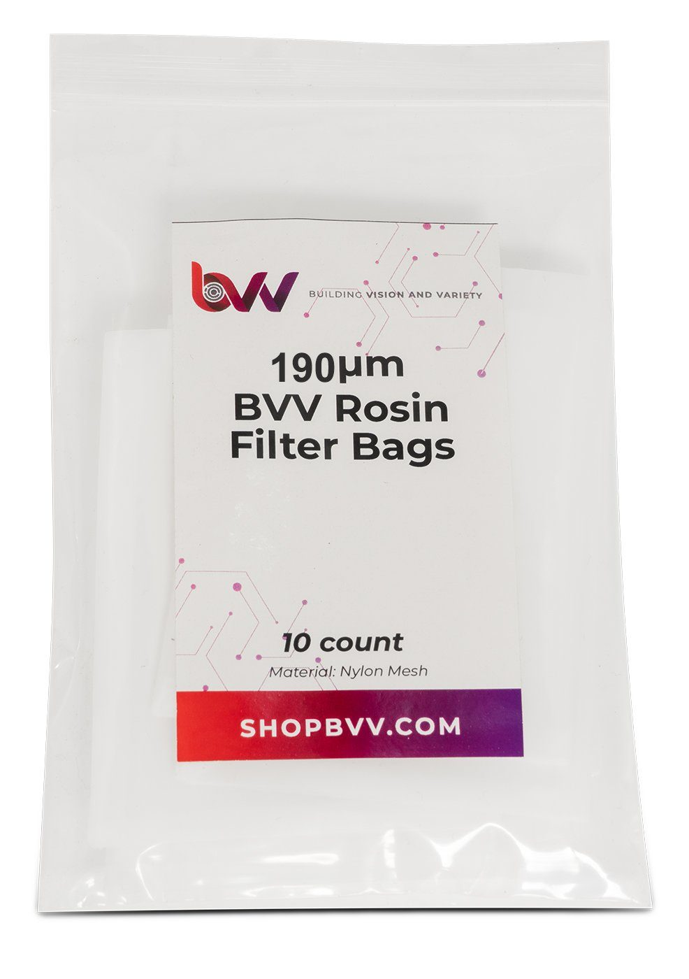 Small Rosin Filter Bags - 10 Pack Shop All Categories BVV 190