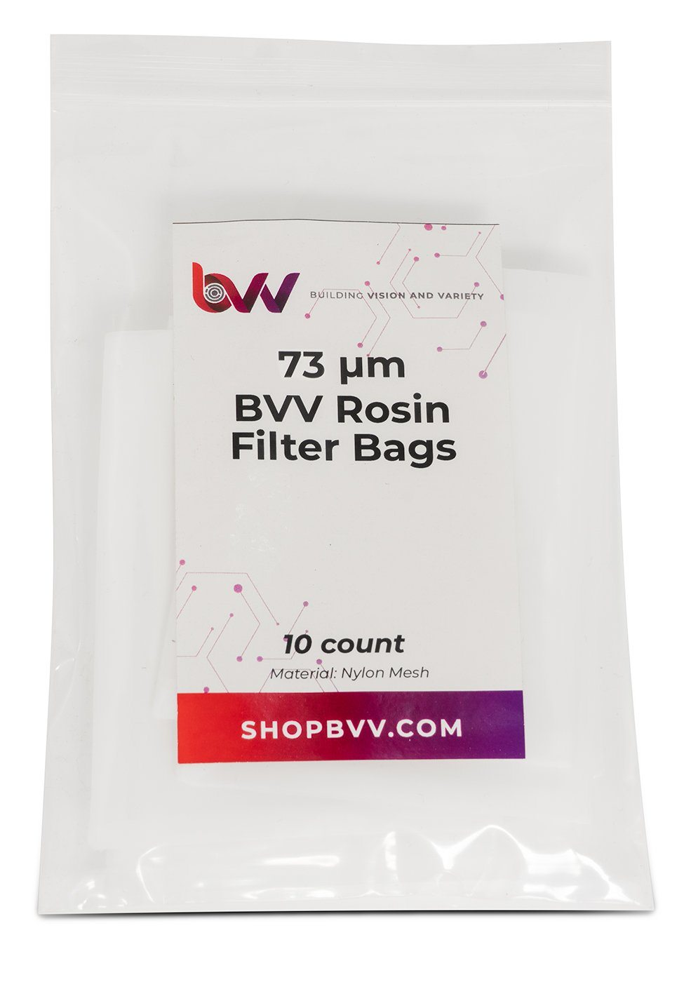 Small Rosin Filter Bags - 10 Pack Shop All Categories BVV 73
